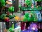 气球布置 宝宝宴 满月酒 气球布置 气球放飞小丑