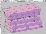 全3D设计 塑胶模具 3d工业设计 ug全3d设计