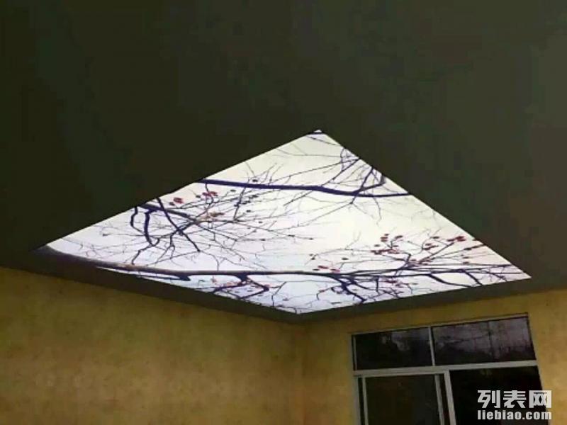 张家界UV软膜灯箱,透光膜,软膜天花