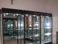 钛合金展柜柜台化妆品展柜台手机柜台药品柜仓储货架子