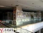 上海个人书画作品展布置