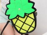 菠萝包女包批发糖果色新款二次元包2d漫画包女包台湾热卖菠萝包潮