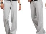 青少年健身灰色运动裤男长裤夏天薄款男士韩版潮休闲卫裤薄休闲裤