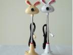 厂家直销大白兔可爱卡通摄像头 免驱高清 台式电脑摄像头带麦