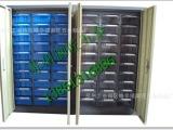 现货供应正而美钢制30抽带门(抽屉透明、蓝色)零件柜