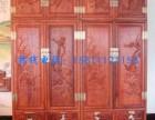 回收老挝红酸枝屏风 紫檀皇宫椅紫檀