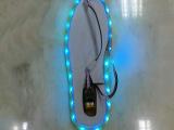 RGB浅蓝色充电鞋底灯 3.7v 24颗