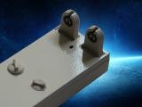 应急T8双管平管支架  LED日光灯支架