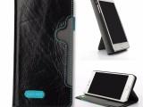 东莞苹果手机皮套厂家ip带支撑真皮手机保护壳OEM生产订做
