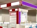 店面设计,烤漆柜台,展柜,展台,货柜,货架订做