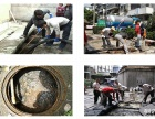 无锡疏通下水管道.高压清洗工厂市政污水管道.化粪池清理