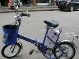 批发零售 16迷你折叠自行车 可载人折叠电动自行车豪爵铃木ax1