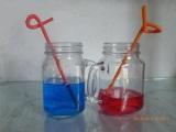 代理把手杯公鸡杯冷饮把手杯把手玻璃杯-优质的玻璃把手杯出售