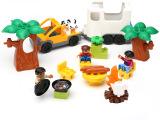 鸿源盛温馨家庭野炊套装旅游积木大颗粒家庭套装积木乐高式玩具儿