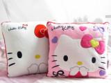 日本原单 凯蒂猫 正版 Hello Kitty 优质毛绒靠垫 抱