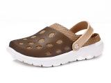 代理大码欧美男鞋 外贸原单包头拖鞋一件代发