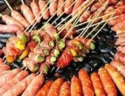 石烤香肠是台湾逢甲夜市著名的美味小吃,加盟即赚