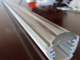 LED灯用透镜 灯条 透明亚克力 PC灯罩 挤出件可开模订制