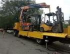 武汉白沙州搬家搬厂 大型机器起重吊装 重型设备卸车落位