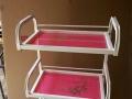 家用小推车 工具车 卫生间 厨房推车 家用凳子理发店小凳子轮