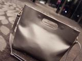 韩国潮流新款时尚休闲IP*AD包手挽公文包女包PU包手拿包 信封