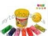 培培乐缤纷7色彩泥3818儿童无毒橡皮泥带模具正品玩具