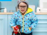 波姆熊童装儿童棉衣男童棉袄大童宝宝婴儿加厚冬装棉衣服2013新款