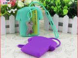 创意衣服造型钥匙包 优质环保硅胶卡包 可爱钥匙扣 卡包 收纳包