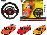 厂家直销全新升级版114重力感应遥控车带方向盘可充电 玩具批发