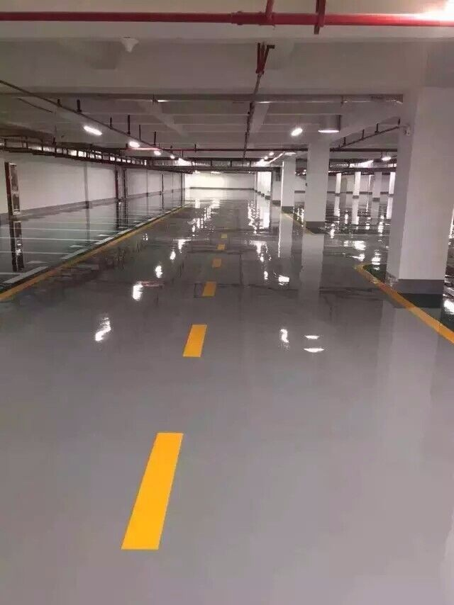 惠州环氧树脂地坪漆 防滑地坪漆 专业施工队现场施工