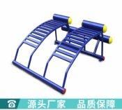室外健身器材双人腹肌板户 外健身路径 压腿架 太空漫步机