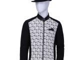 2RZ 2014秋冬新款 品牌夹克 韩版修身夹克外套 条纹男式保