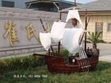 海盗船定制纯手工木船 厂家直销
