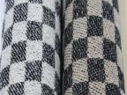 日本进口秋冬粗纺毛呢新款 格子布 大衣呢