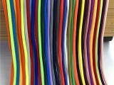 厂家直销4MM彩色圆绳涤纶包芯圆绳涤纶编织绳