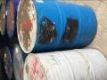长期出售200L大油桶小口大铁桶汽油桶,回收25L蓝色塑料桶