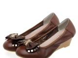 女鞋、平底鞋、四季女鞋、真皮平低女鞋、低