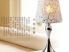 现代艺术灯具布艺台灯 家居卧室床头台灯 订造布艺按钮式台灯饰