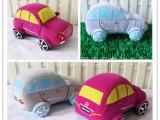 汽车玩具生产厂家 定做仿真汽车毛绒玩具 加工礼品汽车毛绒玩具