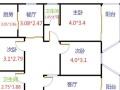 【 锦家 】永晖新村 4室2厅2卫 128㎡带柴间16平方