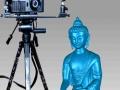 木制品圆柱浮雕雕刻作图扫描仪室内装饰品三维扫描仪