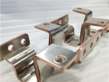 供应银泓新品铜箔软连接,纯镍片覆面异形铜软连接