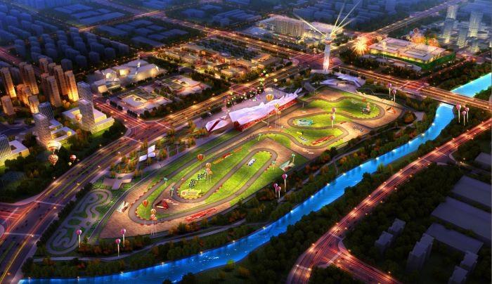 全新轻奢理念汽车越野公园设计开发