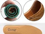 保羅 駱駝男鞋夏季牛皮大頭皮鞋真皮厚底耐磨戶外休閑工裝透氣鞋