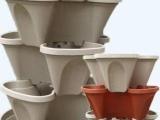 阳台种菜六层立体式组合中型花盆直径45厘