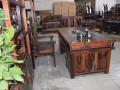 优质老船木茶几船木茶桌椅组合批发原木实木茶桌椅组合直销