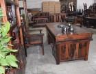 老船木茶几中式家具石磨实木茶台古船木茶桌厂家直销批发