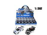 【供应】回力玩具系列 132 奥迪R8警车/雷诺警车(两款混装)
