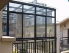 安装玻璃和拆除彩钢瓦房顶
