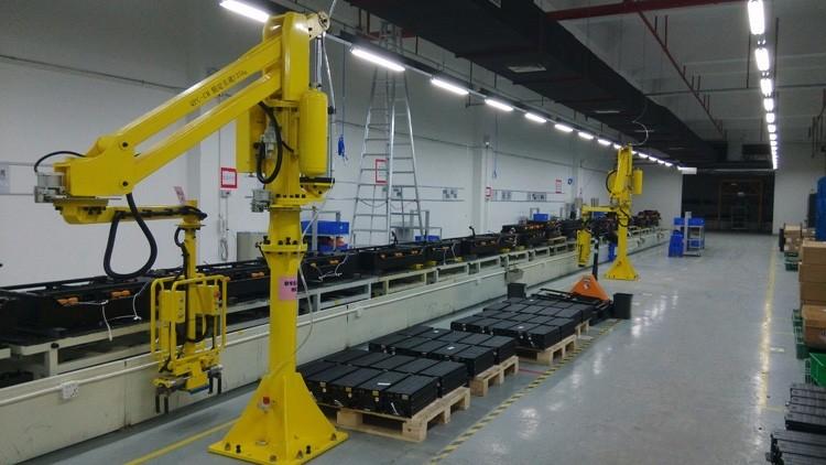 厂家定制手动移载机单臂吊气动平衡器移动式助力机械手臂